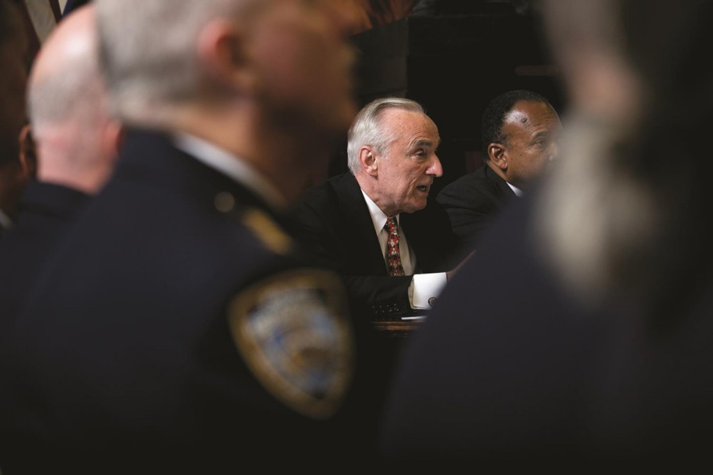 Police Commissioner William Bratton on Monday during a New York City Council hearing. (William Alatriste/NYC Council)