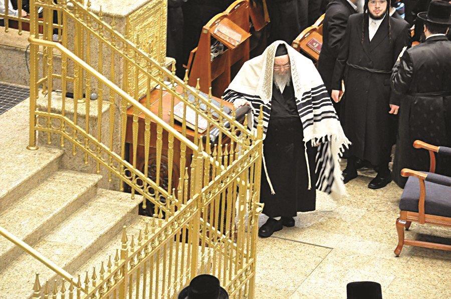 The Belzer Rebbe, shlita. (Photo Credit: Anshi Beck/JDNwFir)