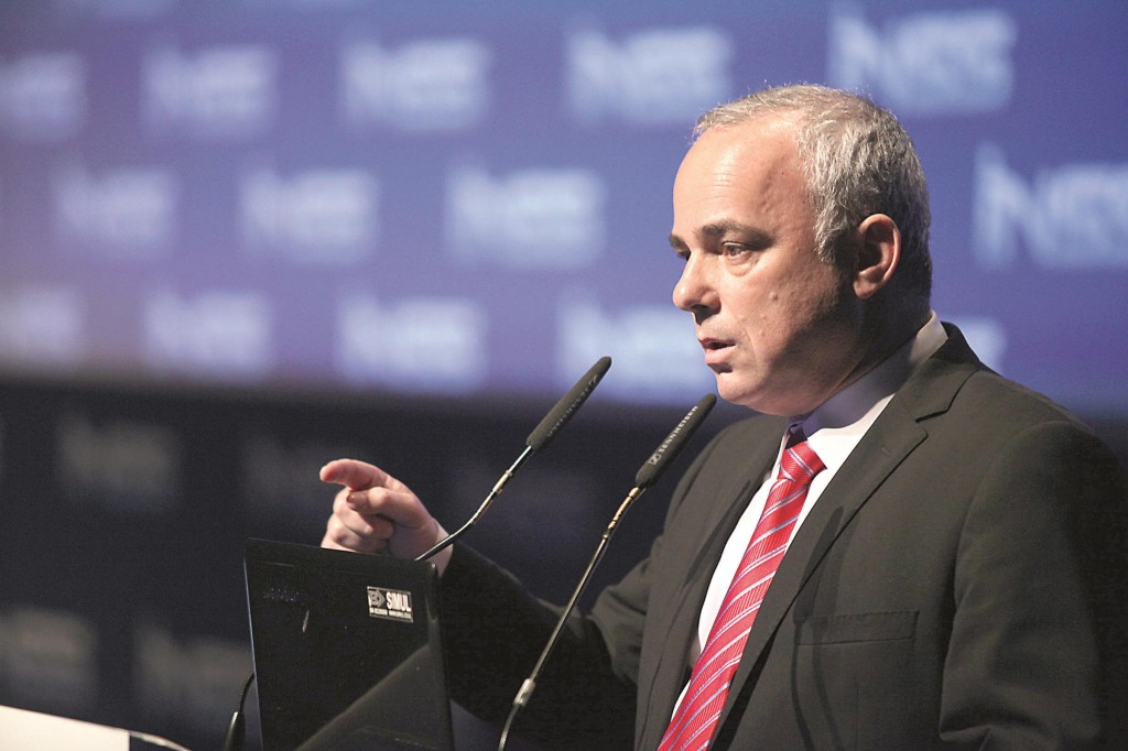 Strategic Affairs Minister Yuval Steinitz. (Gideon Markowicz/Flash90 )