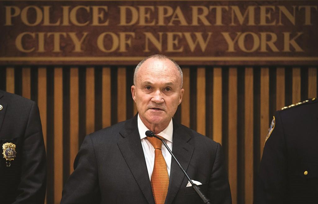Former NYPD Chief Ray Kelly. (AP Photo/John Minchillo)