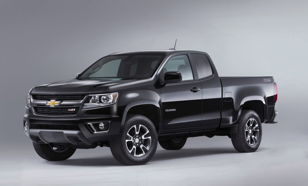 The off-road-inspired Chevrolet Colorado is brawny, and inside the cab, it's clear that this is the next generation of mid-size-truck refinement. (Chevrolet/MCT)