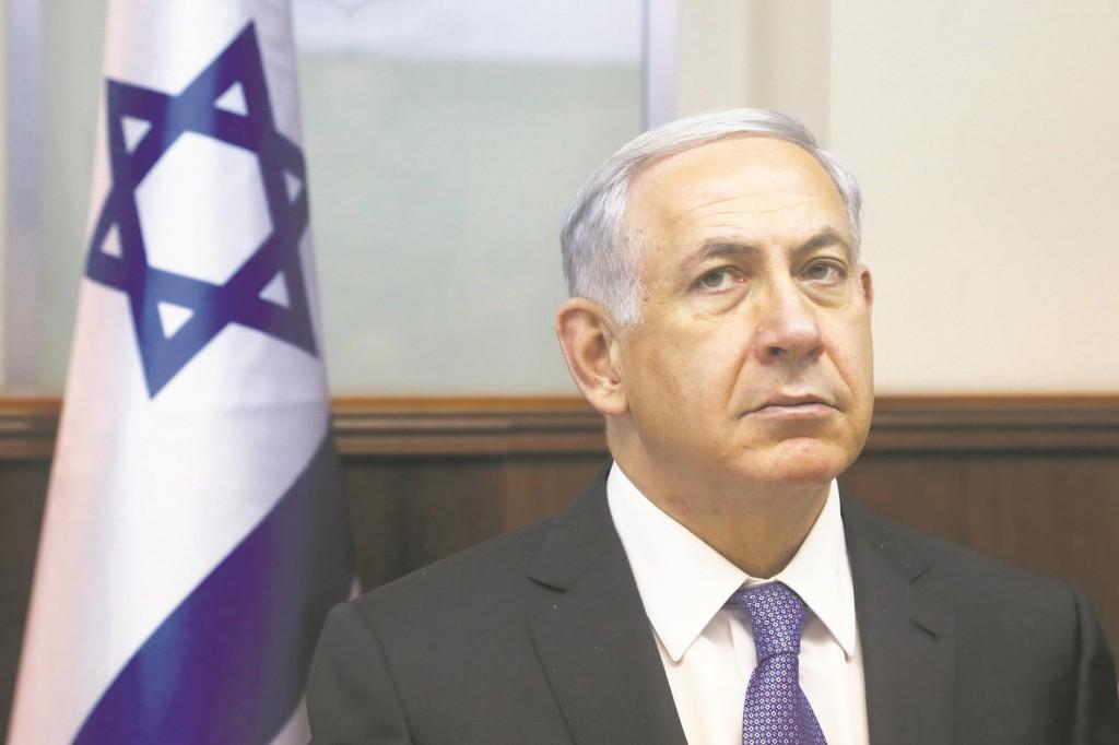 The 65-year-old Israeli Prime Minister Binyamin Netanyahu. (Marc Israel Sellem/POOL/Flash90)