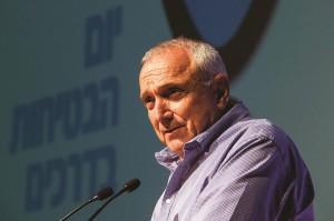 Minister of Internal Security Yitzchak Aharonovitch. (Hadas Parush/Flash 90)