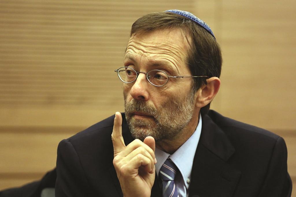 Likud MK Moshe Feiglin. (Hadas Parush/Flash 90.)