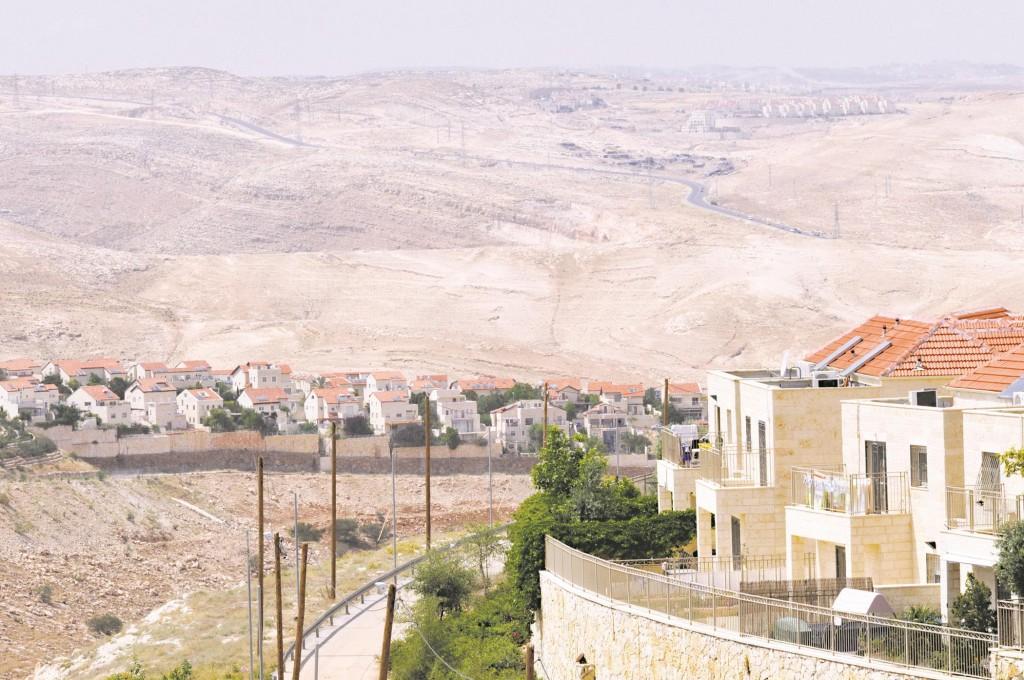 A view of Maaleh Adumim. (Serge Attal/Flash90)