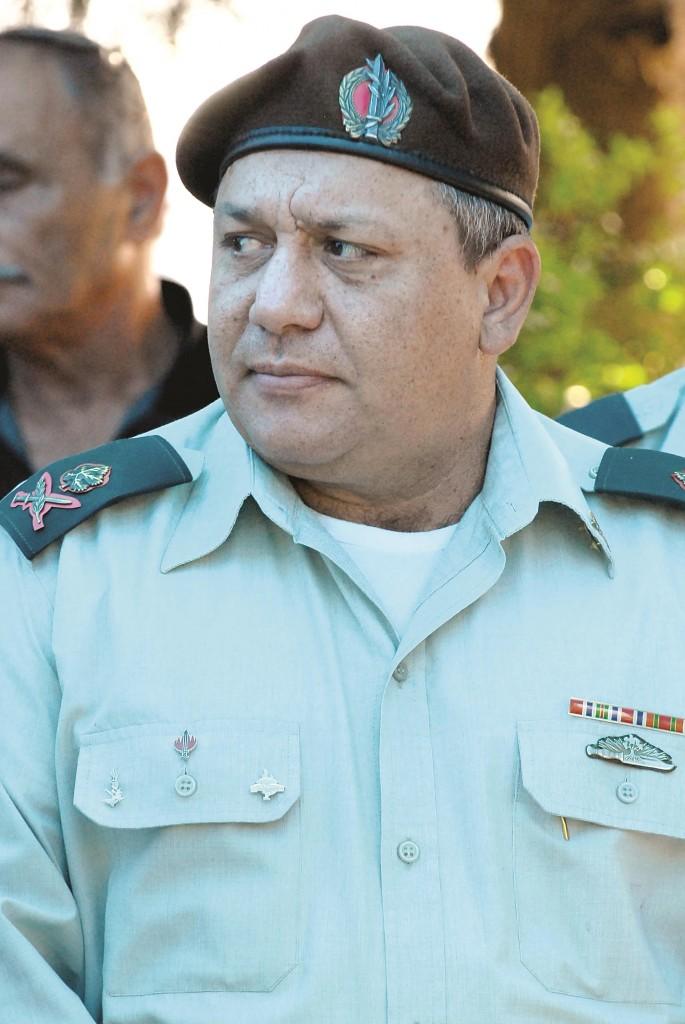 Major-General Gadi Eizenkot. (Gili Yaari/Flash 90)