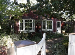 A 2 bed, 1 bath 1,690-square-foot home at 180 Stanford Ave. in Menlo Park, Calif., is listed for $1.795 million on Monday, Sept. 29, 2014. (Nhat V. Meyer/Bay Area News Group/MCT)