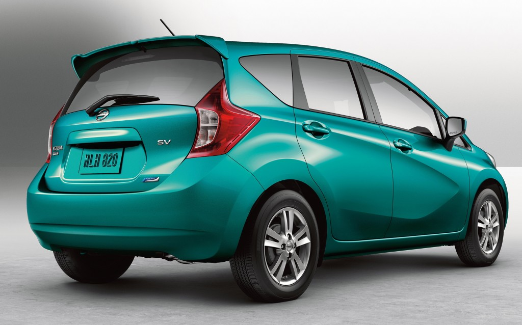The New Exterior Design Of The 2015 Nissan Versa Note Includes A Steeply  Sloped Windshield And