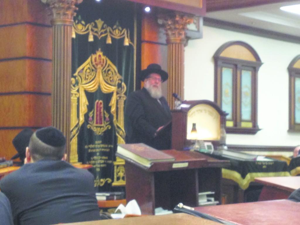 Harav Moshe Tuvia Lieff