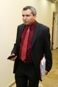 Likud MK Zeev Elkin, who is in favor of the bill. (Amit Shabi/POOL/FLASH90)