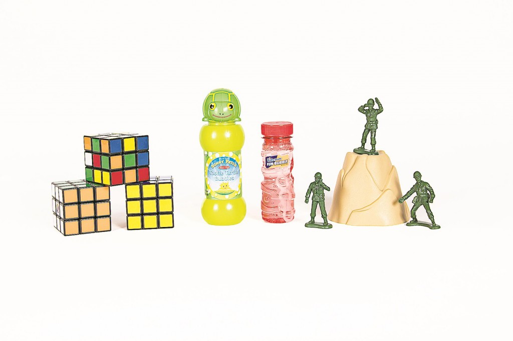Little green army men, the Rubik's Cube and bubbles on Thursday were announced the new additions to the National Toy Hall of Fame in Rochester, N.Y. (AP Photo/National Toy Hall of Fame)
