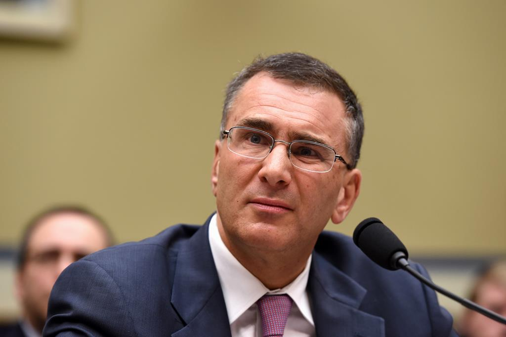 Jonathan Gruber testifies on Capitol Hill in Washington, Tuesday, before the House Oversight Committee healthcare hearing.  (AP Photo/Molly Riley MIT economist)