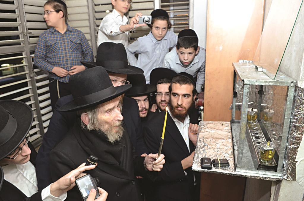 Hagaon Harav Aharon Leib Steinman, shlita