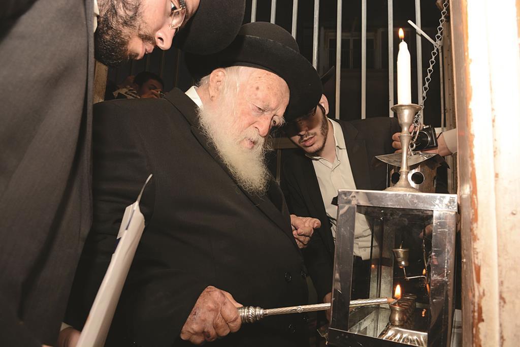 Hagaon Harav Chaim Kanievsky, shlita