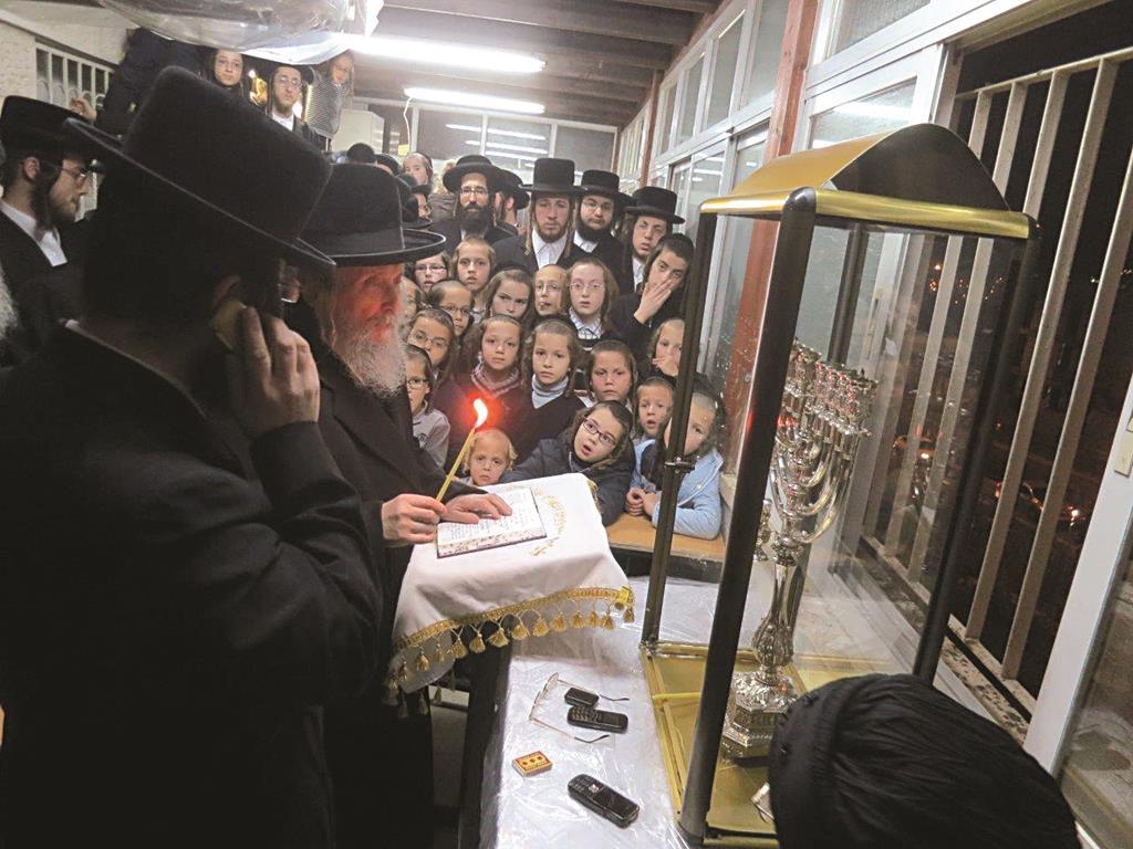 Hagaon Harav Yitzchok Tuvia Weiss, Gaavad, Eidah Hachareidis of Yerushalayim