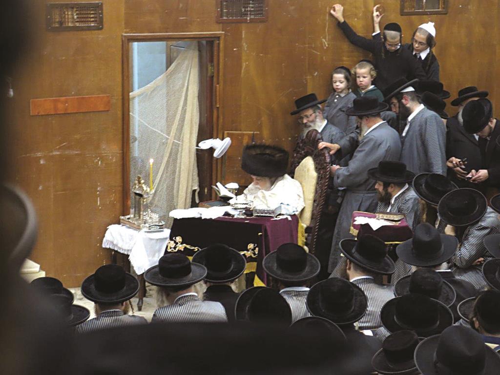 The Toldos Avraham Yitzchak Rebbe, shlita