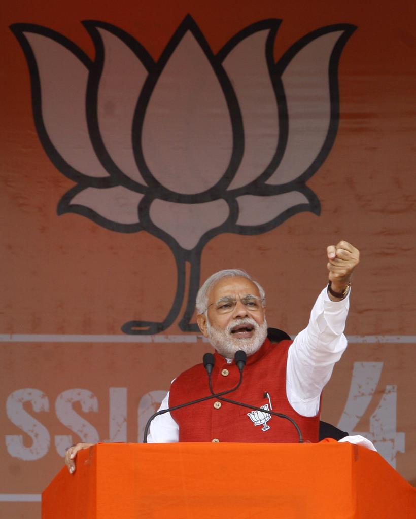 Indian Prime Minister Narendra Modi.  (Sushil Kumar/Hindustan Times via Getty Images)