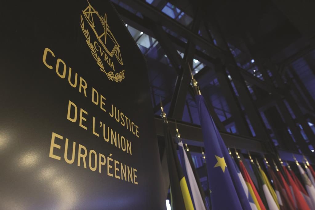 The Court of Justice of the European Union in Luxembourg. (JOHN THYS/AFP/Getty Images)