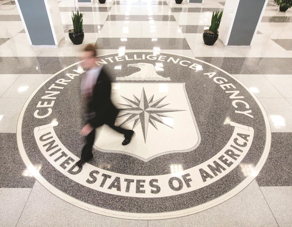 The lobby of the CIA Headquarters building in McLean, Virginia. Top spies past and present campaigned Wednesday to discredit the Senate's investigation into the CIA's torture practices after 9/11. (REUTERS/Larry Downing)