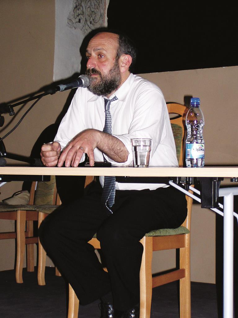 Poland's Chief Rabbi Michael Shudrich.