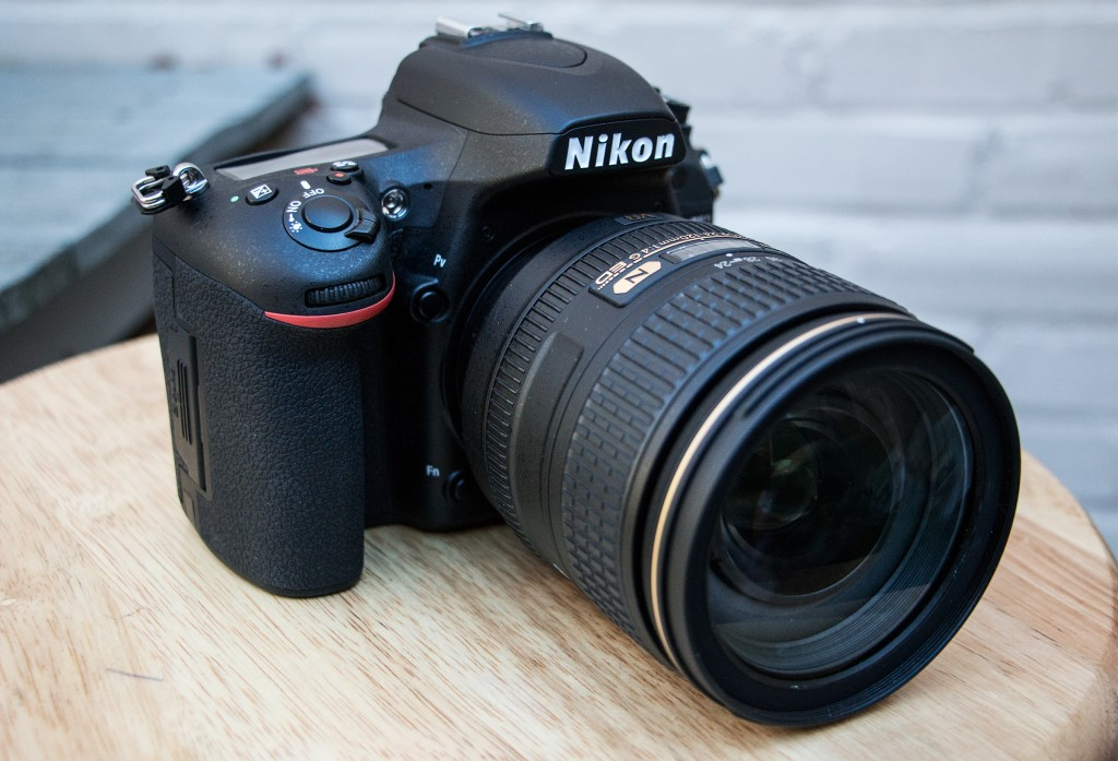 The Nikon D750 is a full-frame digital SLR camera capable of shooting high-definition video at 60 frames per second. It has a 24.3 megapixel sensor and built-in wi-fi for communication directly with tablets and smartphones. (AP Photo/Ron Harris)