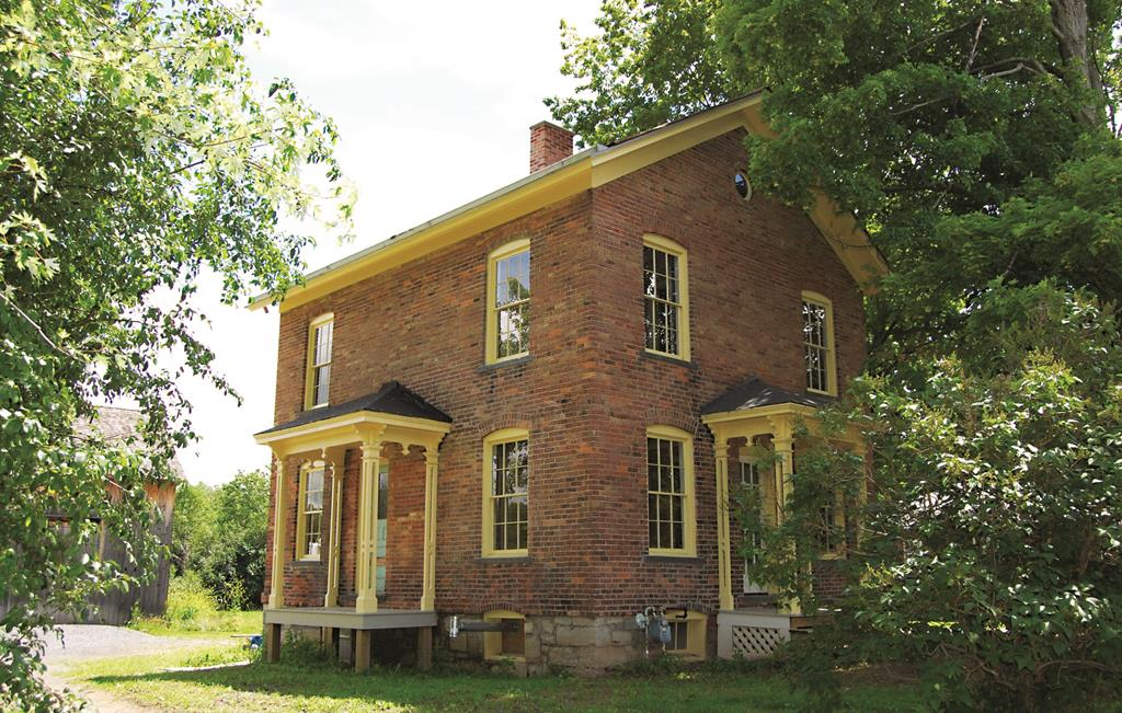Harriet Tubman's residence in Auburn, NY, where she lived from 1857 until her death in 1913.