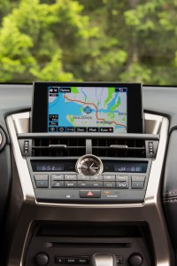 The 2015 Lexus NX 200t includes high-tech features such as Remote Touch display and an optional wireless tray that can charge your cellphone. (TNS)