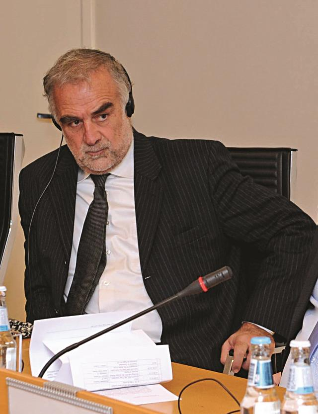 Luis Moreno O'Campo, first Chief Prosecutor of the International Criminal Court, 2003-2014.