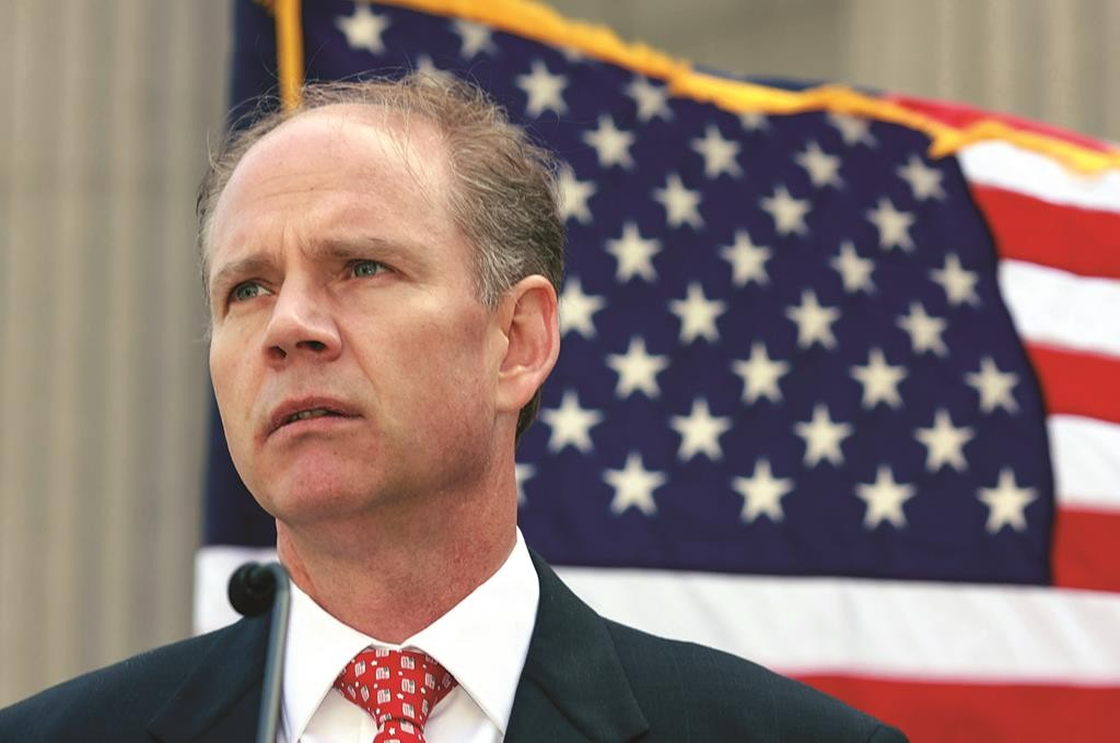 Staten Island District Attorney Daniel Donovan. (AP Photo/Staten Island Advance, Anthony DePrimo)