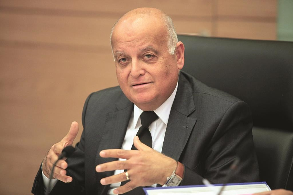 High Court Judge and head of the Israeli electoral committee, Salim Joubran. (Isaac Harari/FLASH90)