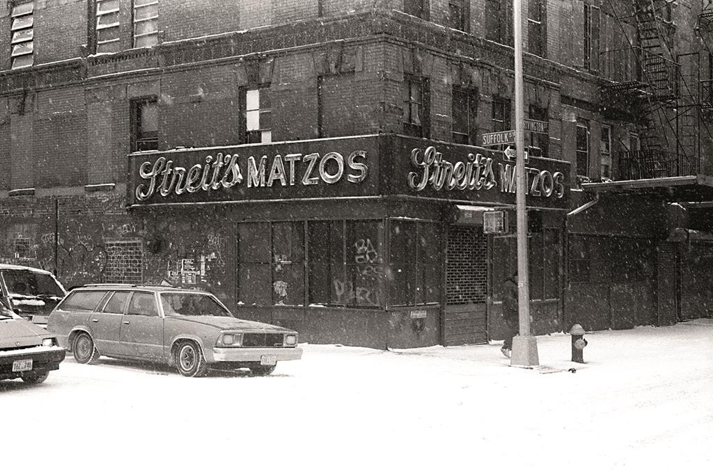 Streit's Matzo factory on the Lower East Side in 1993.
