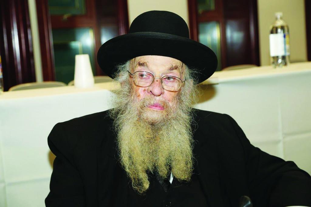 """Hagaon Harav Chaim Epstein, zt""""l."""