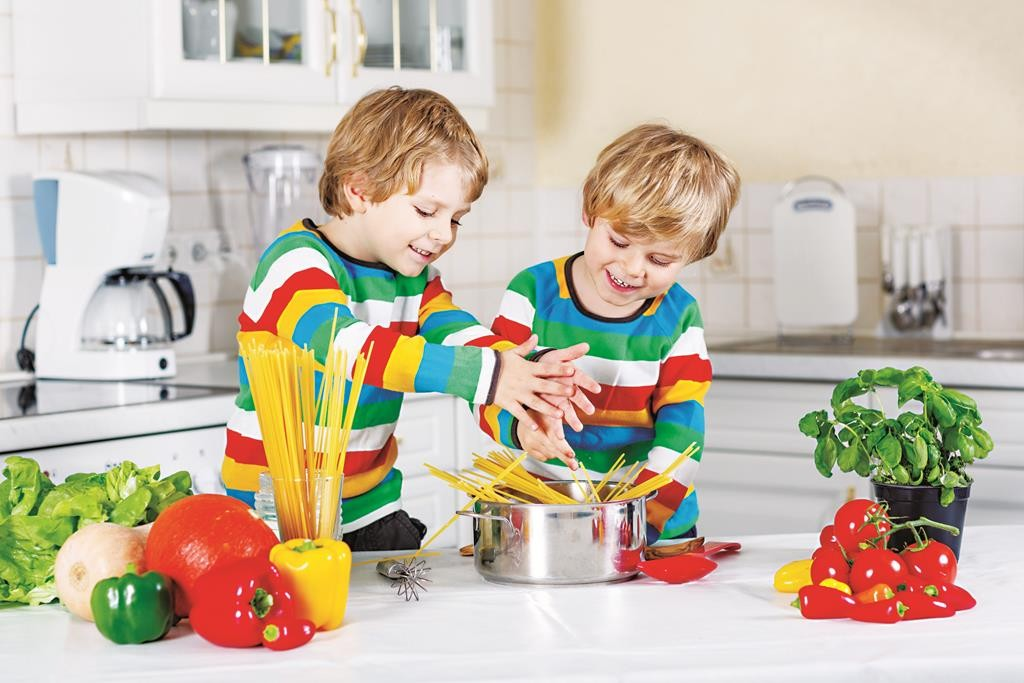 Teach your kids to cook. Children are increasingly the caretakers of their own nutrition.