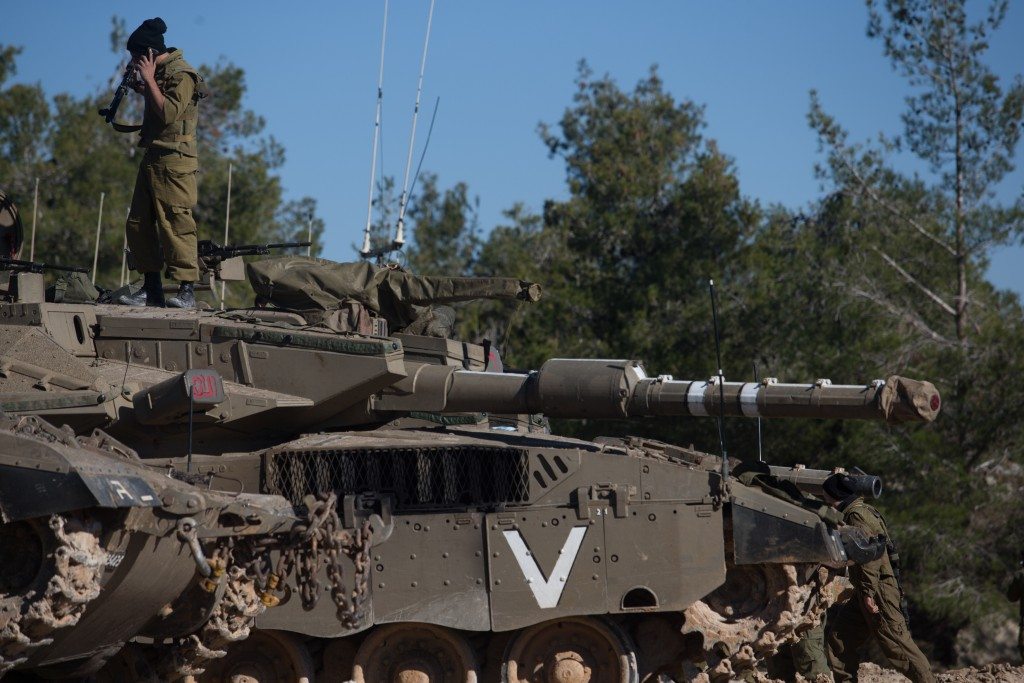 An IDF tank (Basal Awidat/Flash90)