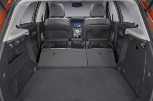 The 2015 Chevrolet Trax features a 60/40-split/fold-flat rear seat and fold-down front passenger seatback. (TNS)