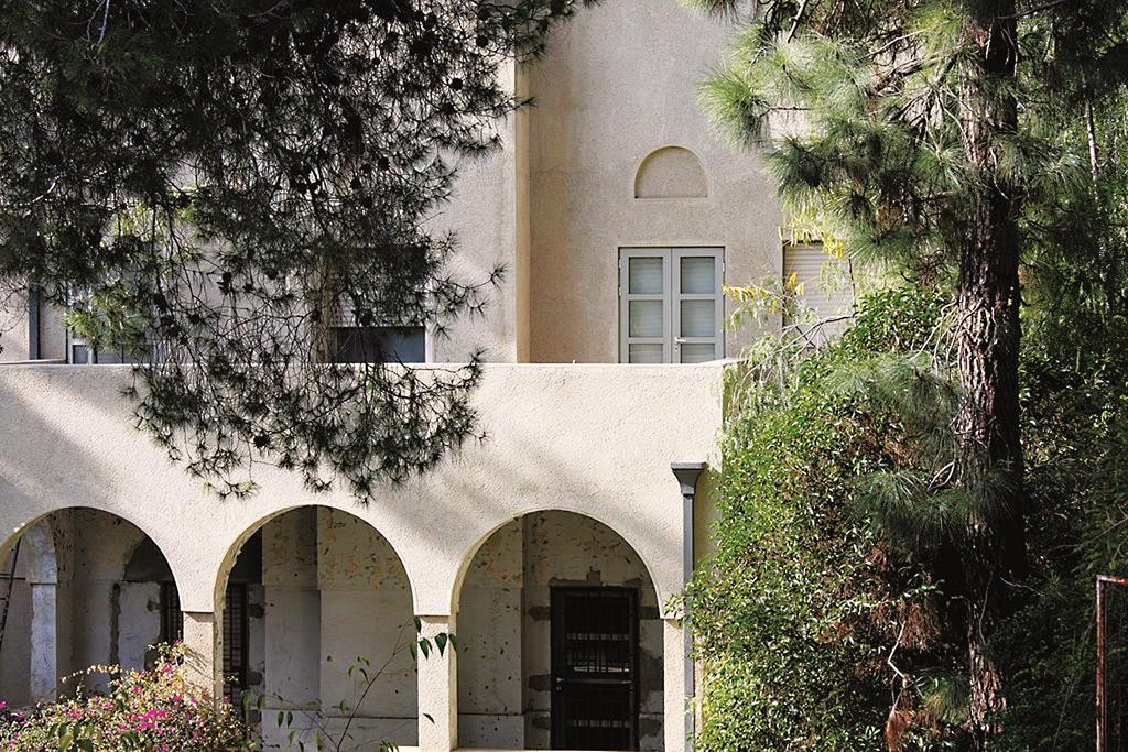 The offical residence of the Prime Minister of Israel, on Balfour Street, Yerushalayim.