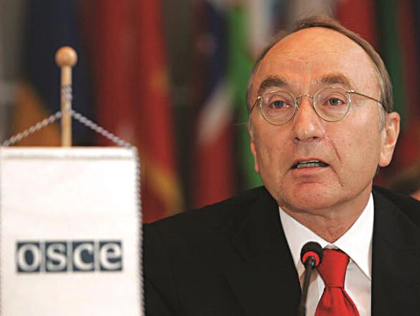 The U.N. Human Rights Council president Joachim Ruecker of Germany. (DIETER NAGL/AFP/Getty Images)