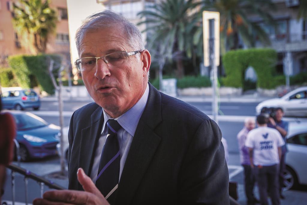 Likud attorney David Shimron. (FLASH90)