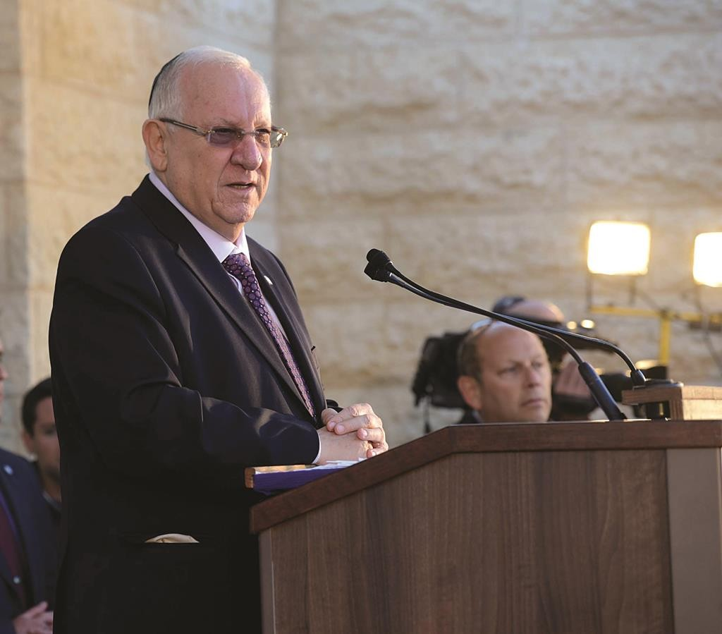 President Reuven Rivlin Photo by Mark Neyman/GPO