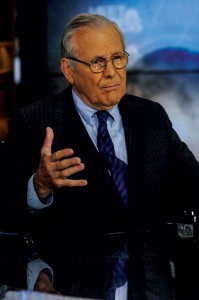 Donald Rumsfeld, Former Secretary of Defense.  (William B. Plowman/NBC/NBC NewsWire via Getty Images)