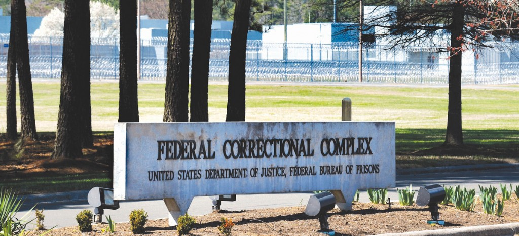 The Federal Bureau of Prisons Correctional Complex where Jonathan Pollard is imprisoned. (Sara D. Davis/Getty Images)