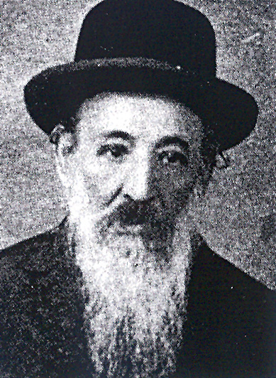 "Harav Yisrael Elimelech Moskowitz, zt""l, the Zhabriver Rebbe."
