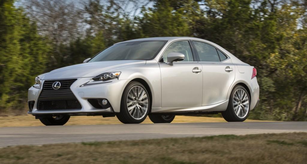 The third-generation Lexus IS 250 sedan for 2015 starts at $36,550. (Lexus/TNS)