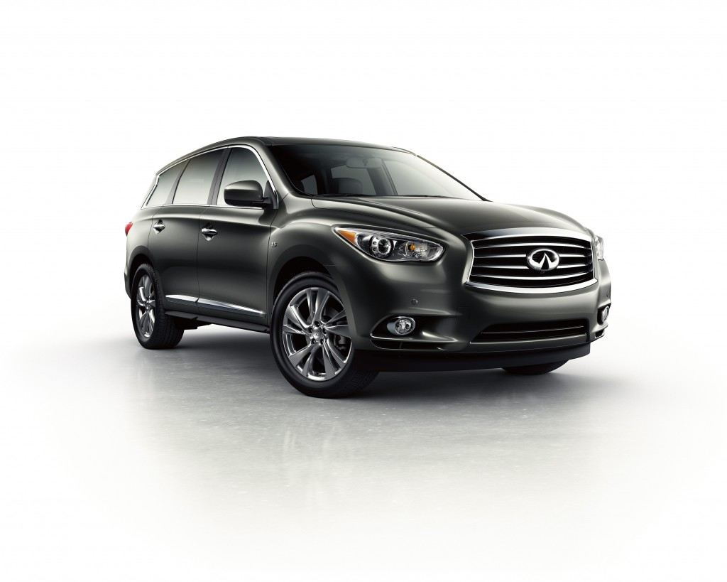 The three-row, seven-passenger 2015 Infiniti QX60 gets its power from a 3.5-liter V-6 that produces 265 hp and 248 pound-feet of torque. (Infiniti/TNS)