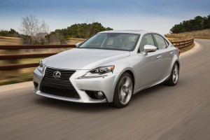 The 2015 Lexus IS has a 2.5-liter V-6 engine with 204 horsepower, and a six-speed automatic transmission. (Lexus/TNS)