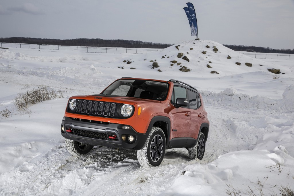 The Renegade's off-road capability is a major selling point. (A.J. Mueller)
