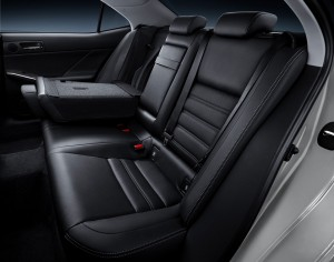 The F Sport package for the 2015 Lexus IS offers heated and cooled seats. (Lexus/TNS)
