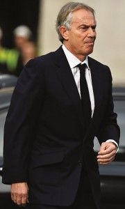 The Quartet's Mideast envoy, former British prime minister Tony Blair.(BEN STANSALL/AFP/Getty Images)