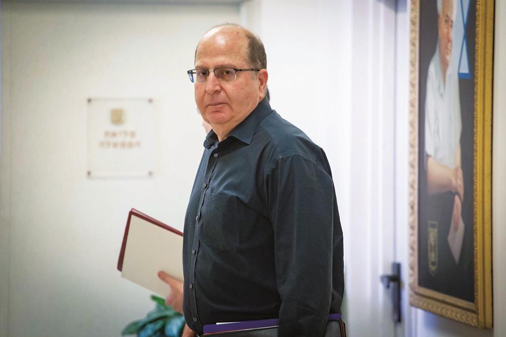 Israeli Minister of Defense Moshe Yaalon. (Emil Salman/POOL)