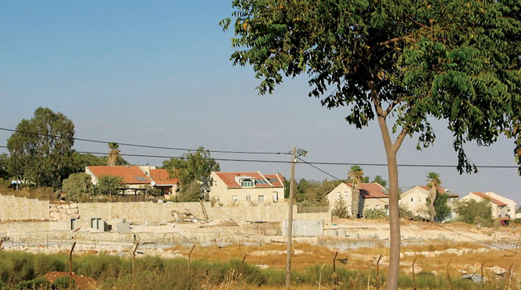 A view of Kochav Hashachar, in the Binyamin region. (Adirel)